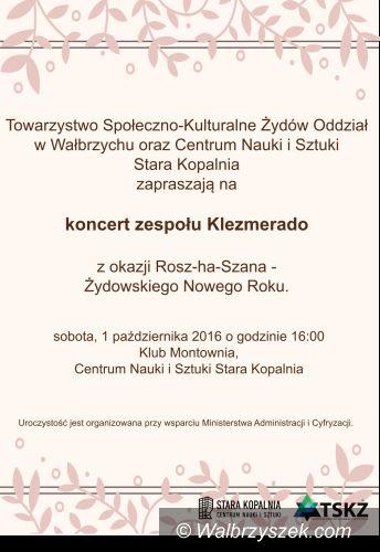Wałbrzych: Żydowski nowy rok w rytmach muzyki zespołu klezmerskiego