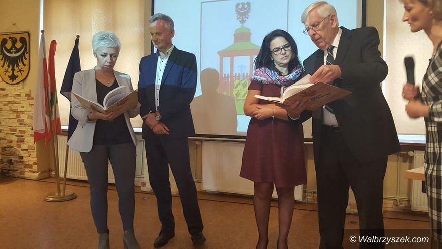 REGION, Jedlina-Zdrój: Wizyta Honorowego Obywatela