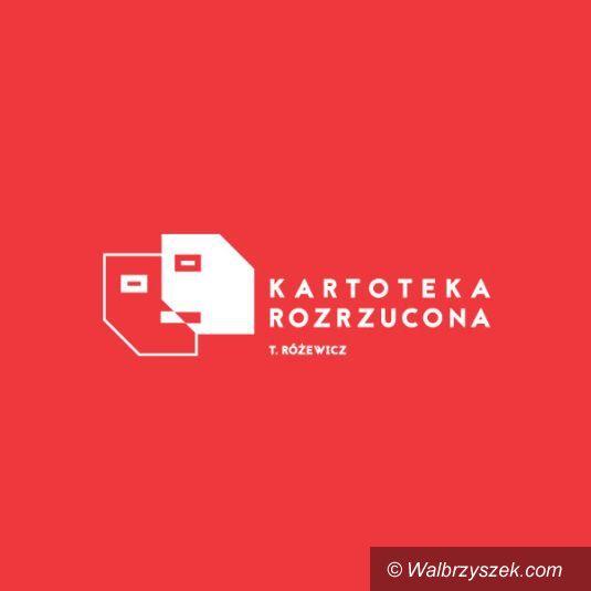 Wrocław: Tadeusz Różewicz i jego kartoteka –