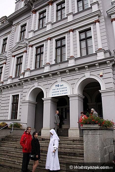Wałbrzych: Jubileusz Liceum Sióstr Niepokalanek