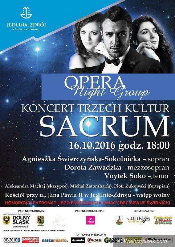 REGION, Jedlina-Zdrój: Koncert Trzech Kultur tradycyjnie w Jedlinie–Zdroju