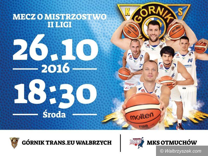Wałbrzych: II liga koszykówki: Przetarcie przed Śląskiem