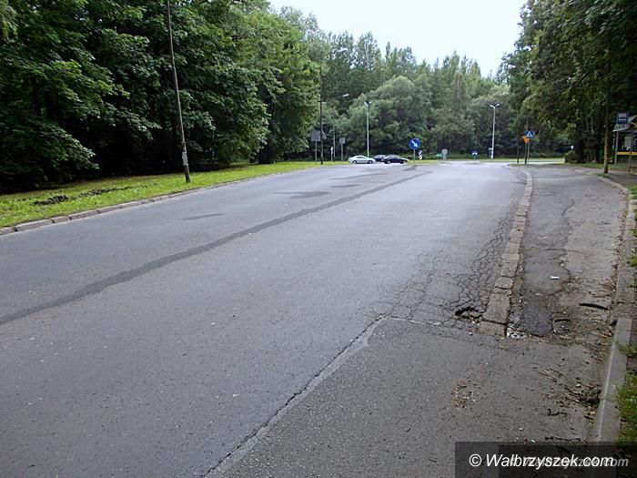 Wałbrzych/REGION: Będą pieniądze na remont ulicy Bystrzyckiej