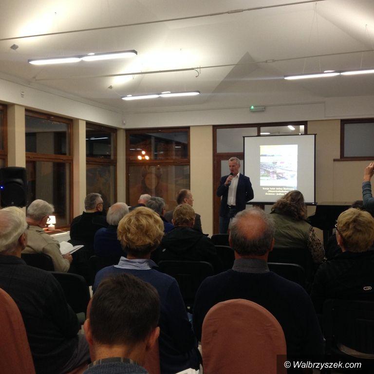 REGION, Jedlina-Zdrój: Rozmawiali o historii kolei w Dolinie Bystrzycy