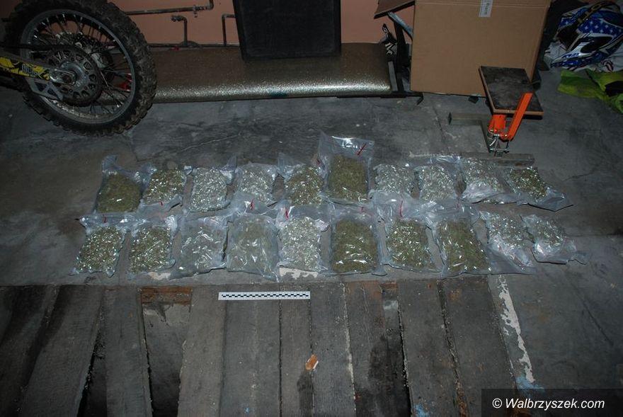 Wałbrzych: 5 kg marihuany u 32–latka