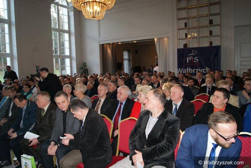 Wałbrzych/REGION: PiS wybrał władze okręgowe. Zalewska ponownie prezesem