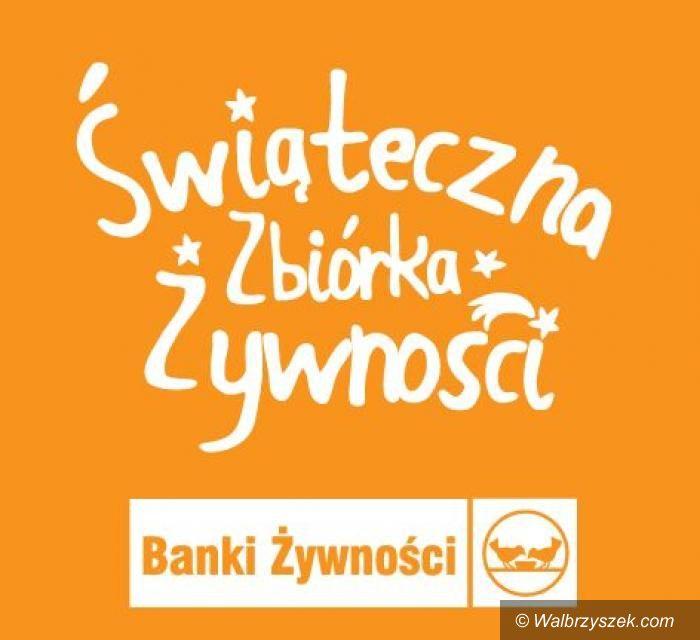 REGION, Szczawno-Zdrój: Świąteczna Zbiórki Żywności również u nas