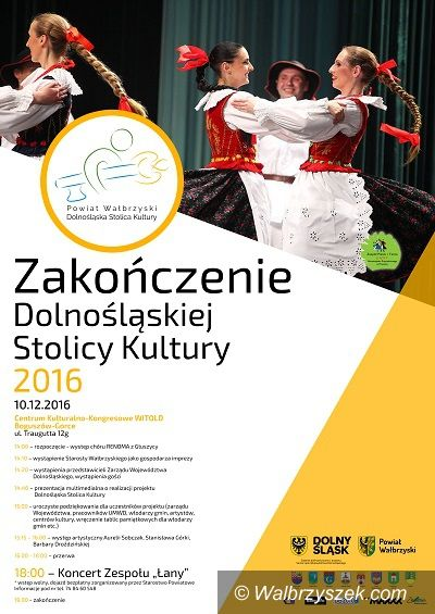 powiat wałbrzyski: Zakończenie Dolnośląskiej Stolicy Kultury 2016 w powiecie wałbrzyskim