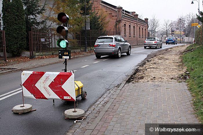 REGION, Szczawno-Zdrój: Tymczasowa organizacja ruchu w Szczawnie Zdroju do końca stycznia przyszłego roku