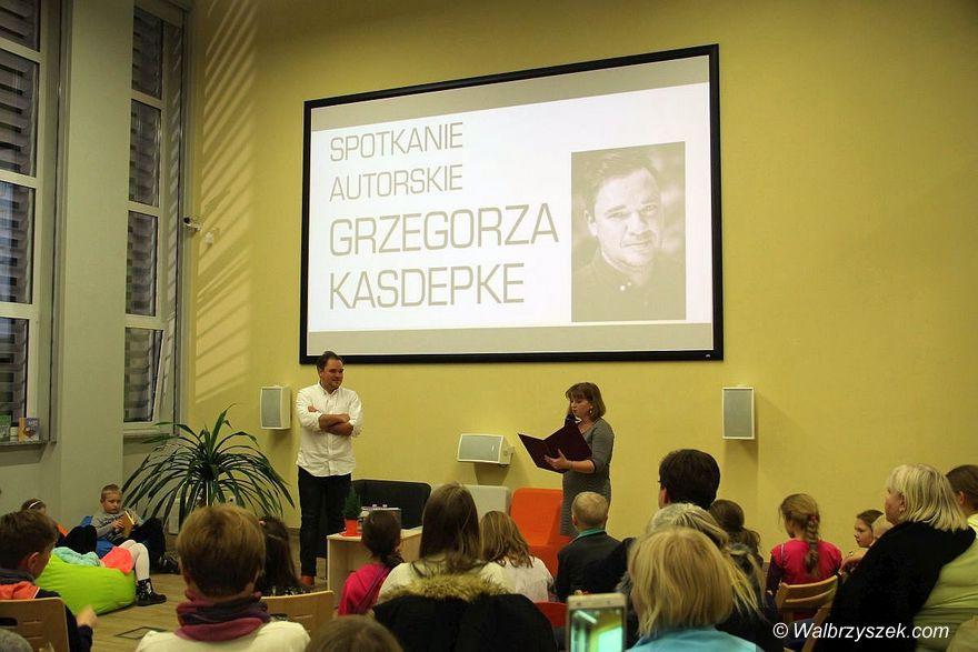 Wałbrzych: Spotkanie autorskie z Grzegorzem Kasdepke
