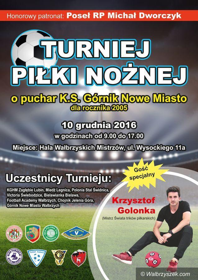 Wałbrzych: Silnie obsadzony turniej piłkarski odbędzie się w Wałbrzychu