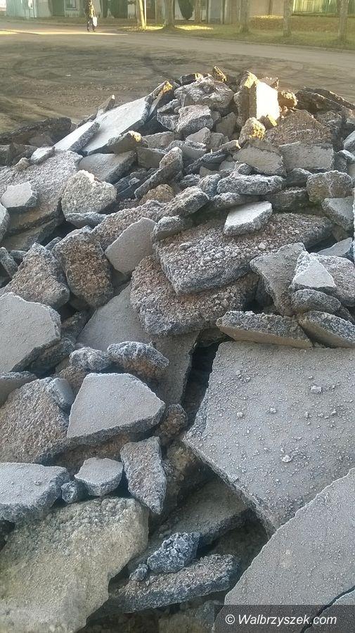Wałbrzych: Wytropił kolejne dzikie wysypisko odpadów na Podzamczu