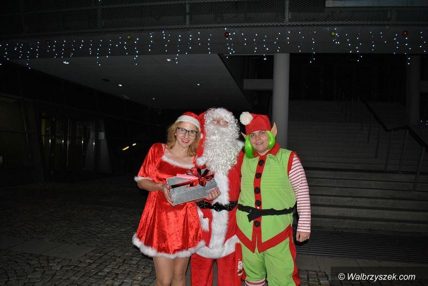 Wałbrzych: Mikołaj w Aqua Zdroju