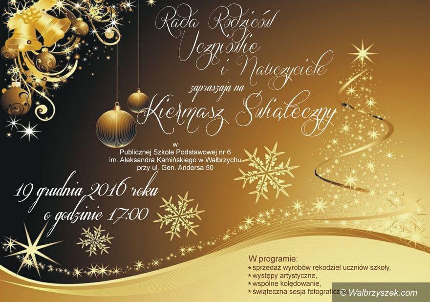 Wałbrzych: Przyjdź na świąteczny kiermasz