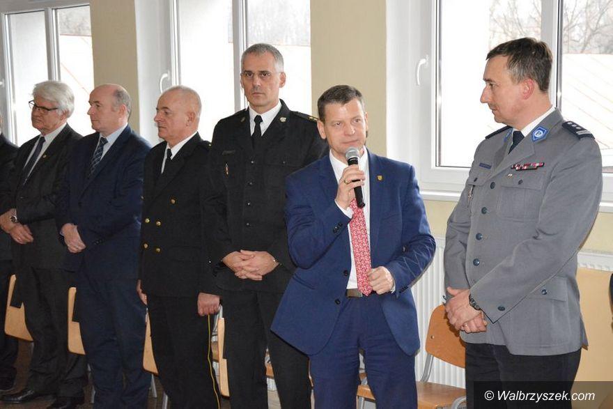 Wałbrzych: Spotkanie wigilijne w KMP w Wałbrzychu