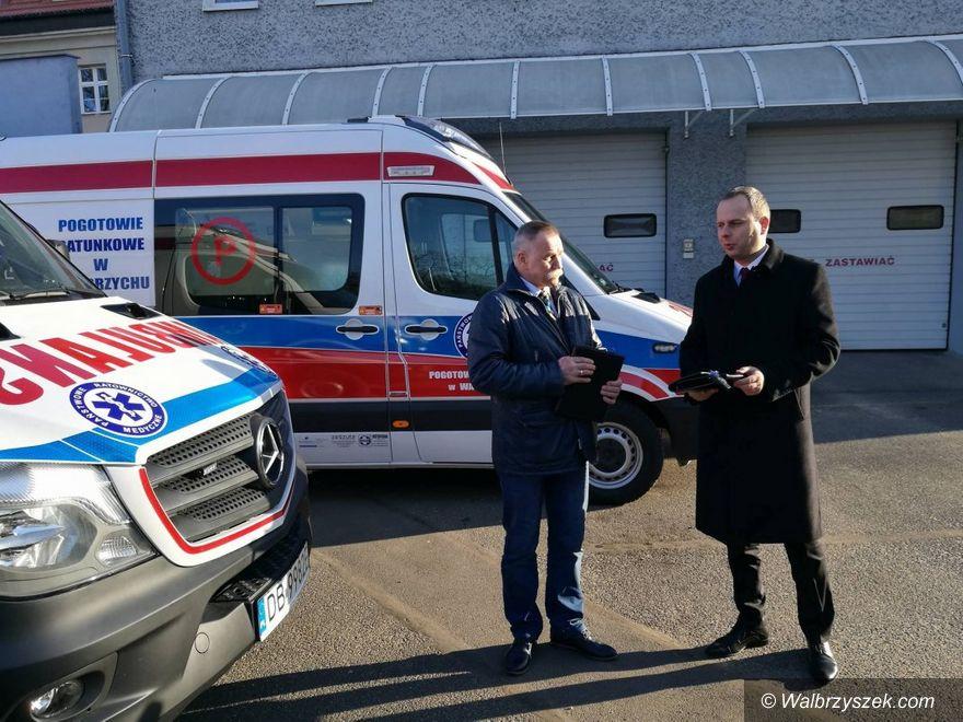 Wałbrzych/REGION: Nowe karetki pogotowia już do dyspozycji wałbrzyszan