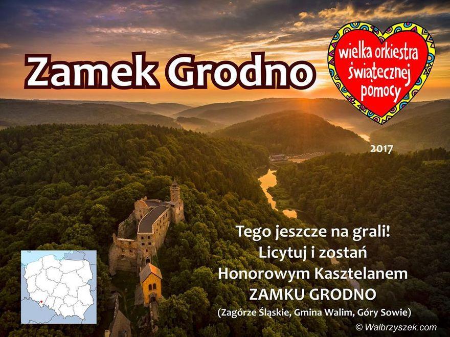 REGION, Zagórze Śl.: Zamek Grodno poszedł pod młotek