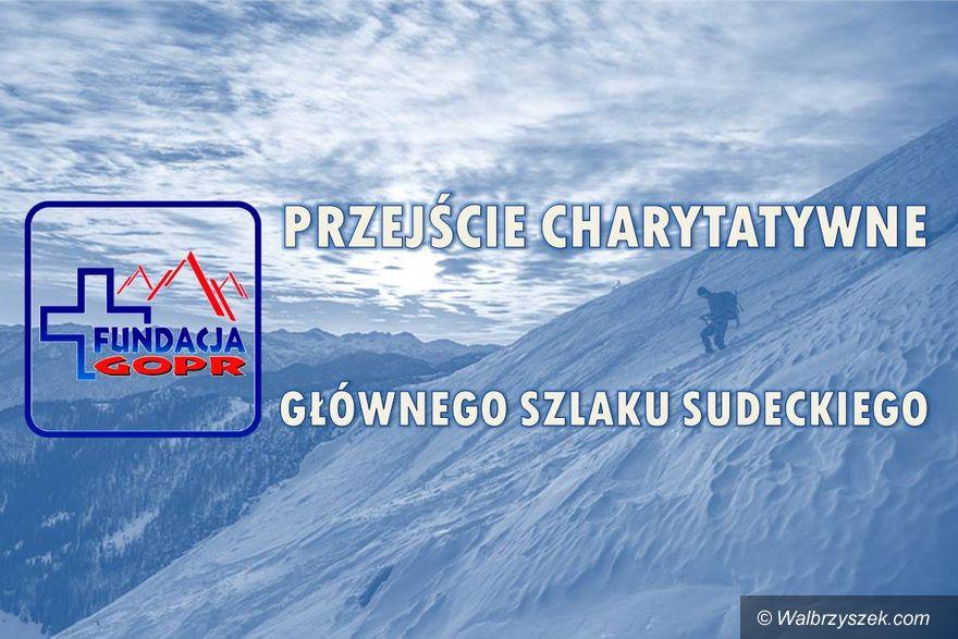Wałbrzych/REGION: 420 km dla niepełnosprawnego ratownika GOPR
