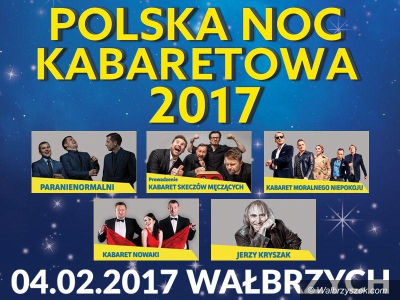 Wałbrzych: Przed nami kolejna Polska Noc Kabaretowa