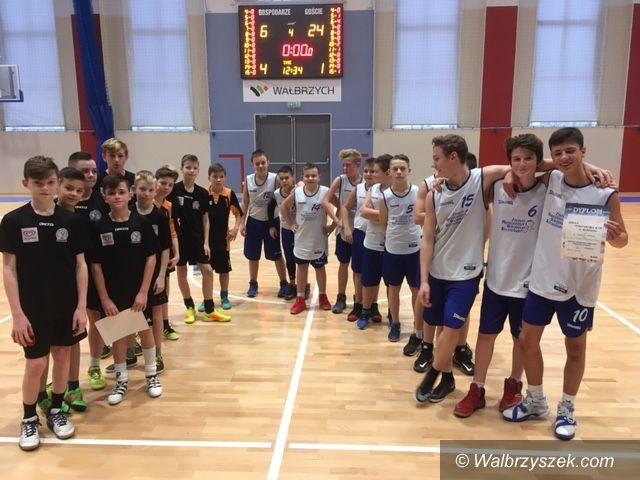 Wałbrzych: Strefowa koszykówka