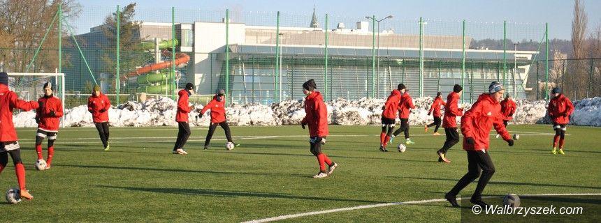 Wałbrzych: Kolejne ekipy piłkarskie w Aqua Zdroju