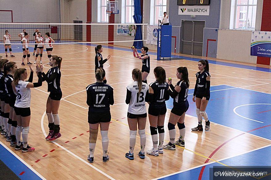 Wałbrzych: III liga siatkówki: Upragnione zwycięstwo dziewcząt Chełmca