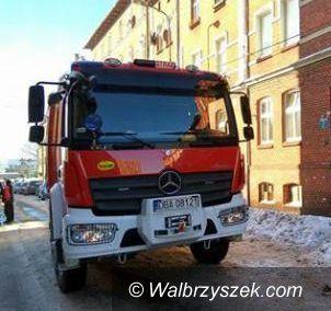 Wałbrzych: Paliło się na 1 Maja