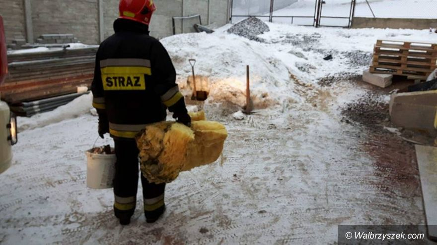 REGION, Unisław Śląski: Kilkugodzinna akcja gaszenia