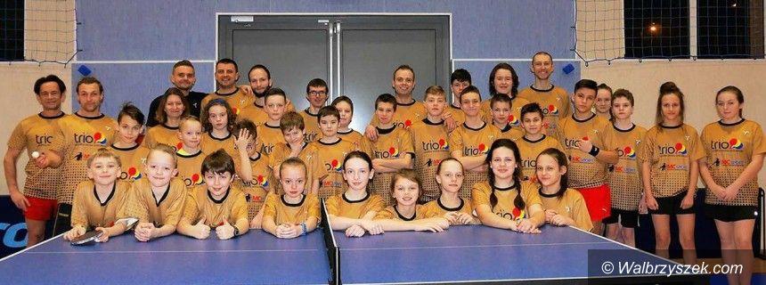 Wałbrzych: Obóz szkółki tenisa stołowego