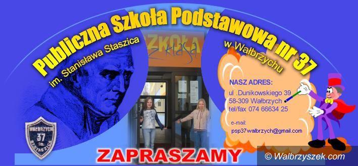 Wałbrzych: PSP nr 37 otworzy drzwi