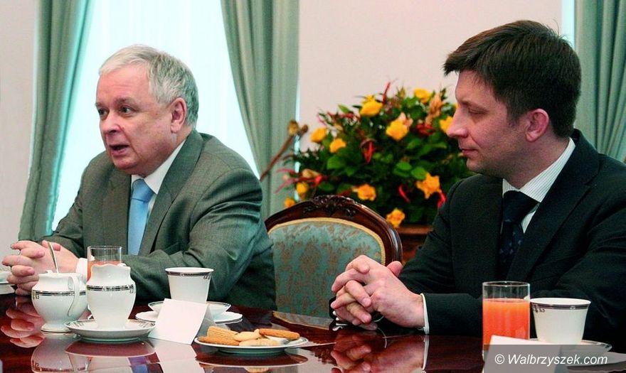 Kraj/Wałbrzych: Michał Dworczyk wiceministrem