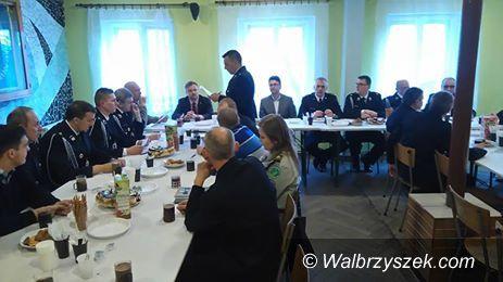 REGION, Boguszów-Gorce: Strażacy z Boguszowa mieli zebranie sprawozdawcze