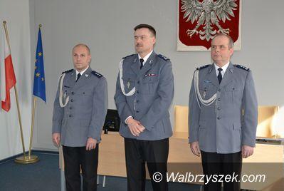 Wałbrzych: Nominacja kom. Rafała Siczka na Zastępcę Komendanta Miejskiego Policji w Wałbrzychu