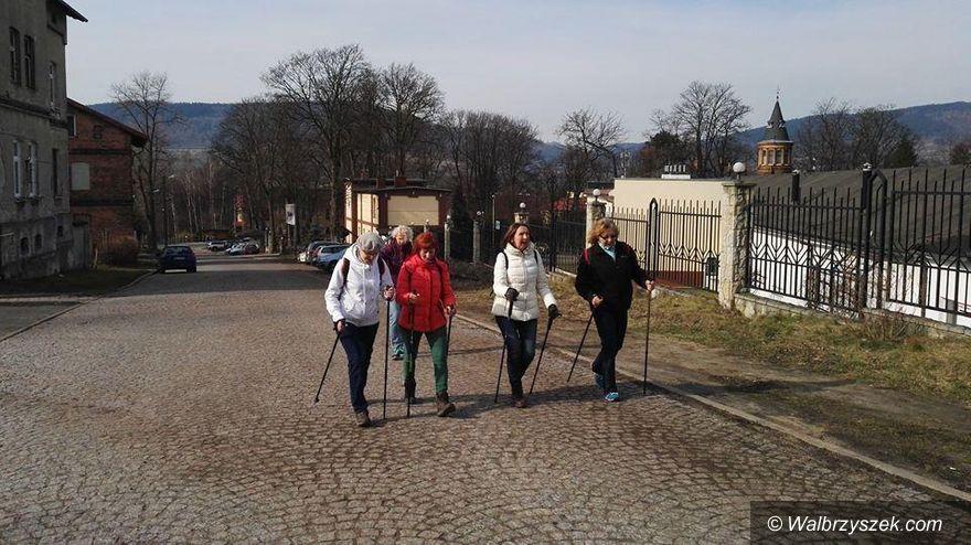 REGION, Głuszyca: Wiosenny marsz nordic walking