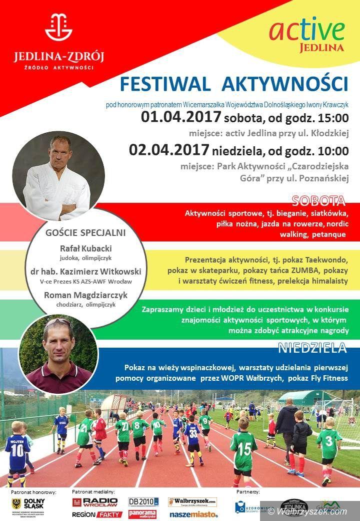 REGION, Jedlina-Zdrój: Zapraszamy na Festiwal Aktywności do Jedliny–Zdroju