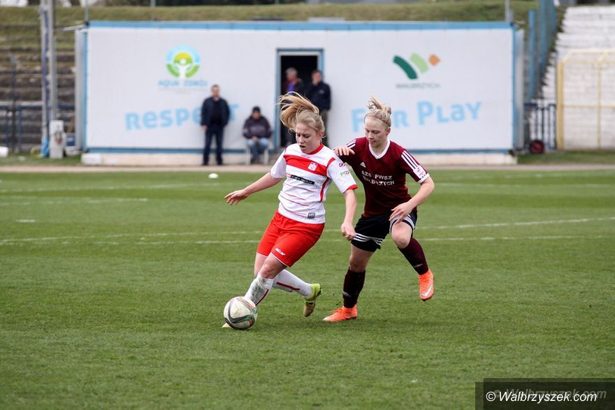 Wałbrzych: Ekstraliga piłkarska kobiet: Bezbramkowy remis w meczu akademiczek