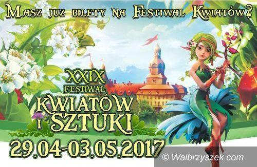 Wałbrzych: Zbliża się XXIX Festiwal Kwiatów i Sztuki