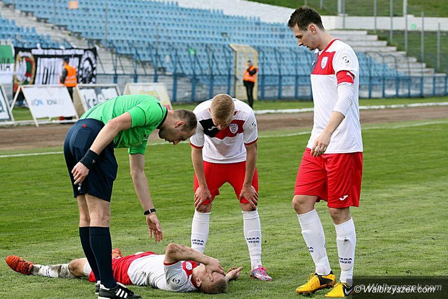 Wałbrzych: III liga piłkarska: Przygaszona nadzieja