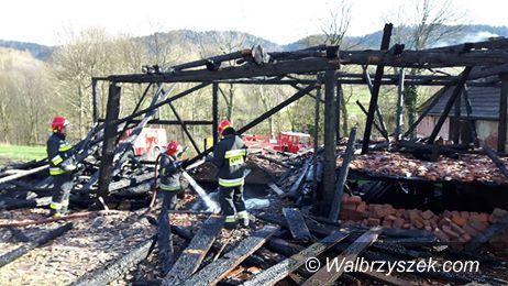 REGION, Rybnica Leśna: Spłonęła stodoła