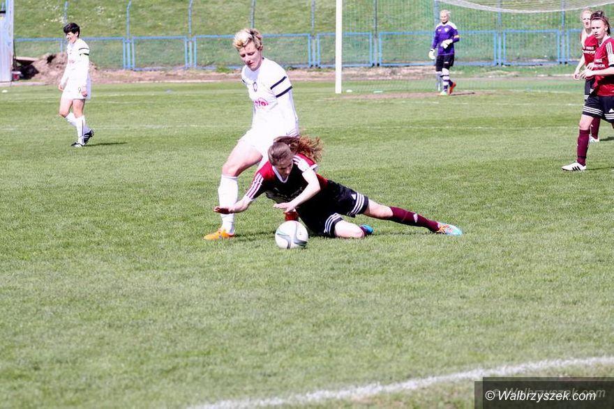 Łęczna: Ekstraliga piłkarska kobiet: Minimalna porażka z Górnikiem Łęczna