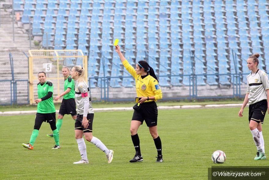Wałbrzych: Ekstraliga piłkarska kobiet: Podział punktów w starciu z Czarnymi