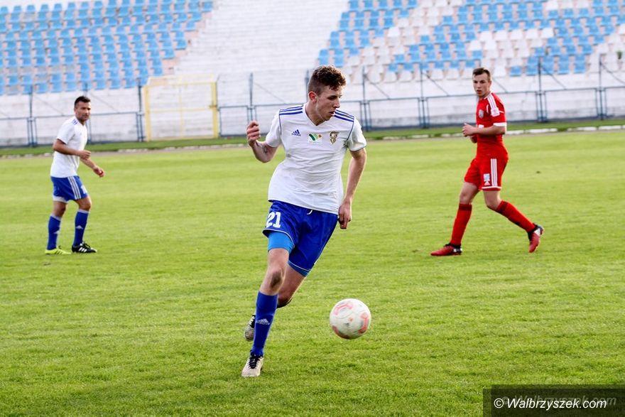 Wałbrzych: III liga piłkarska: Utrzymanie się oddala...