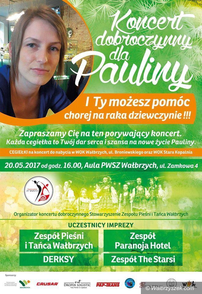 Wałbrzych: Koncert dobroczynny dla Pauliny