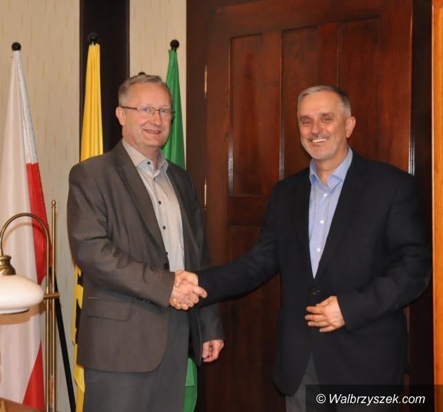 Wałbrzych: Przewodniczący sejmiku z wizytą w Wałbrzychu
