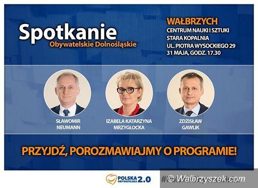 Wałbrzych: Możesz przyjść na spotkanie z posłami Platformy Obywatelskiej