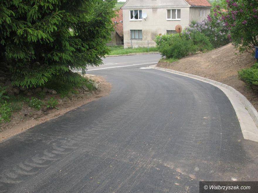 REGION, Walim: Walimskie inwestycje drogowe
