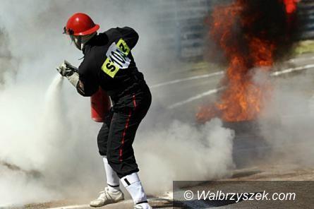 Wałbrzych: Nasi strażacy coraz lepsi