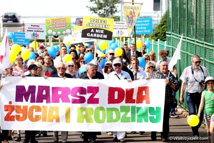 Wałbrzych: Marsz dla Życia i Rodziny 2017