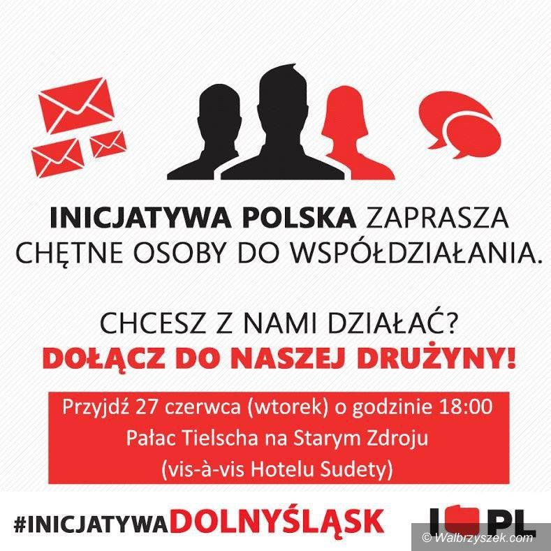 Wałbrzych: Inicjatywa Polska chce rozmawiać o problemach mieszkańców Wałbrzycha
