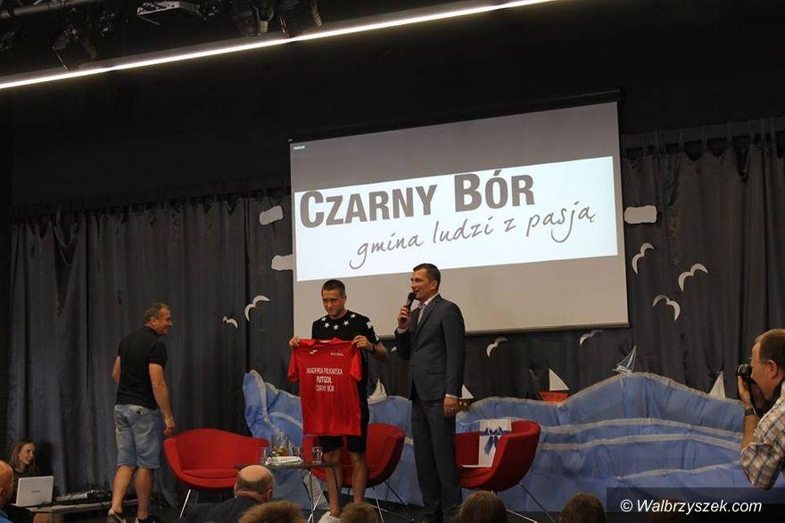 REGION, Czarny Bór: Piłkarz Napoli odwiedził Czarny Bór